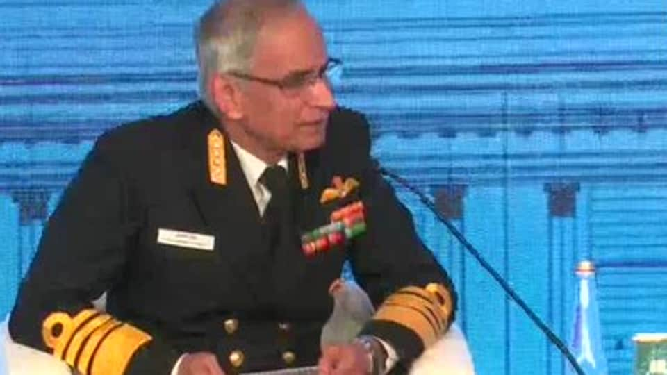 The Navy chief, cautioning China against its increasing involvement in the Indian Ocean, said the navy is watching carefully