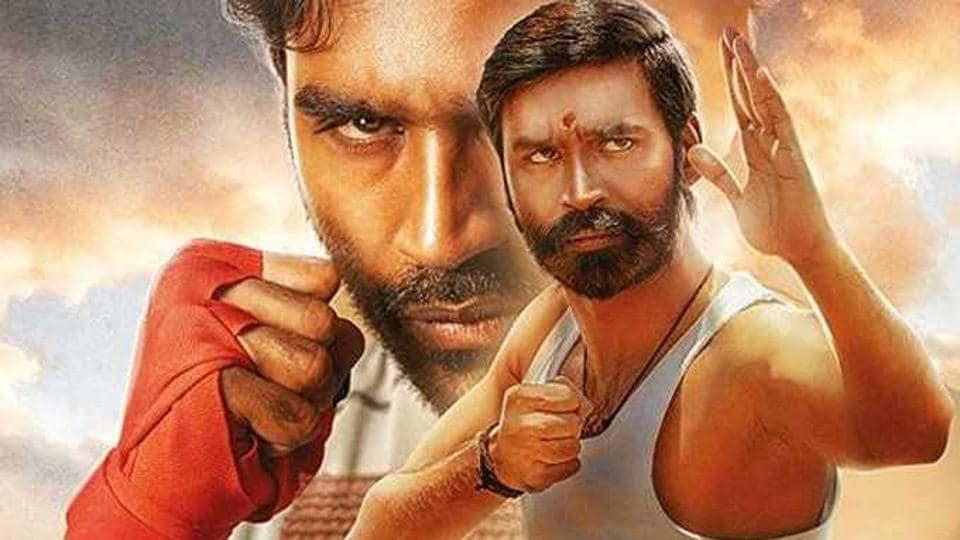 Pattas movie review: After Asuran, Dhanush is again seen in a double role, playing father and son.