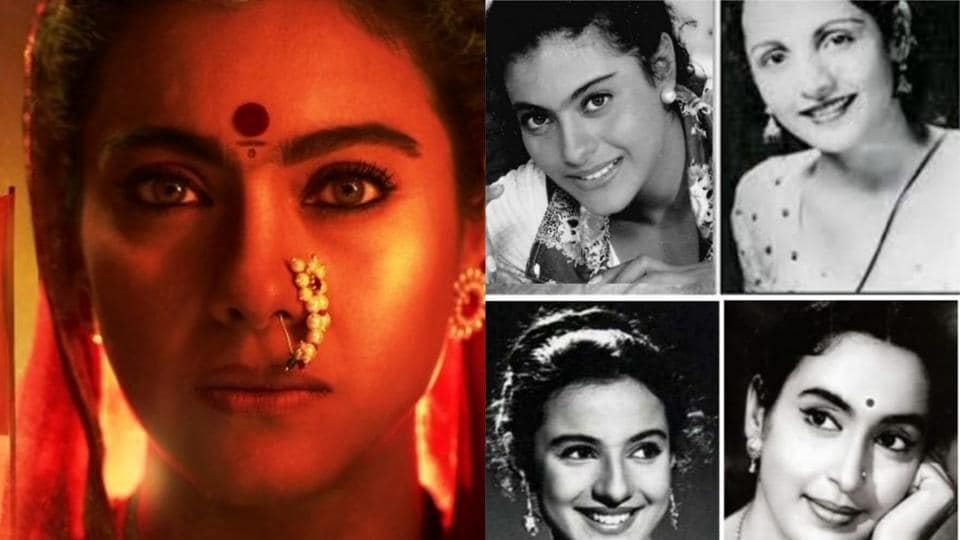 Kajol has shared a collage featuring herself, her mother Tanuja, grandmother Shobhna and aunt Nutan.