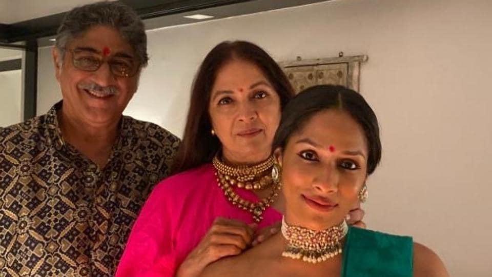 Neena Gupta is the mother of designer Masaba Gupta.