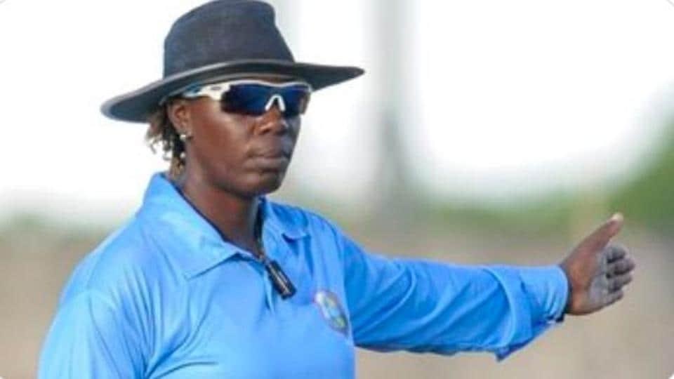 Umpire Jacqueline Williams