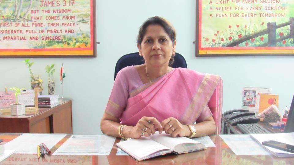 Sumita Mukherjee, principal, Ryan International School, Noida.
