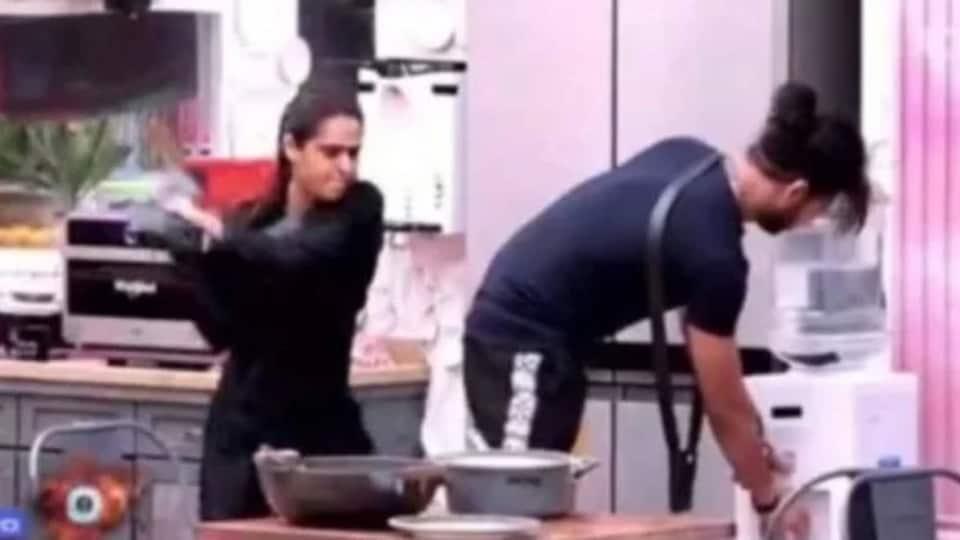 Vishal Aditya Singh and Madhurima Tuli displayed violent behaviour inside the Bigg Boss 13 house.