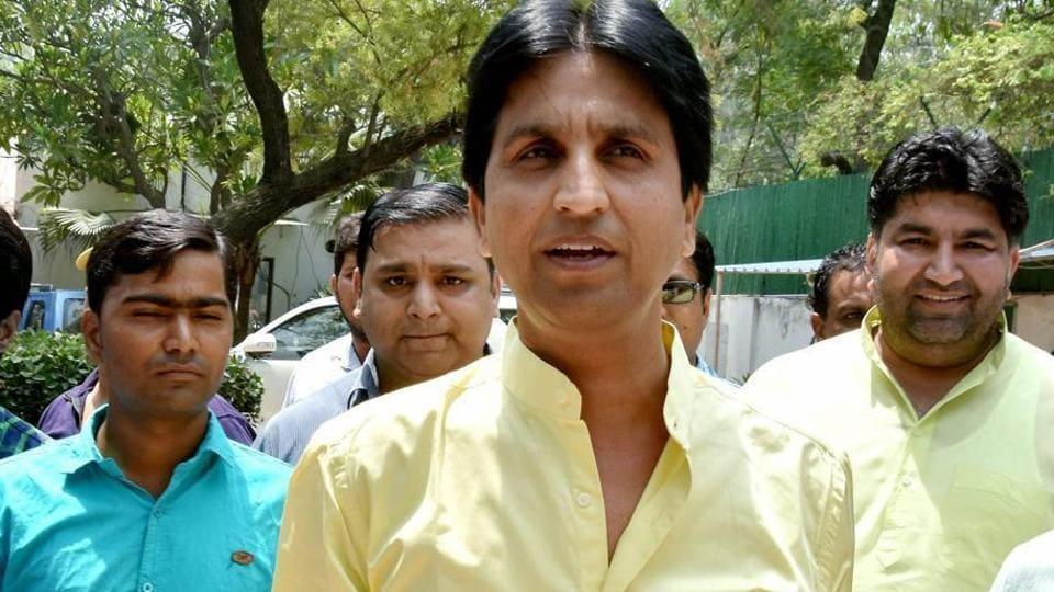File photo of Kumar Vishwas.