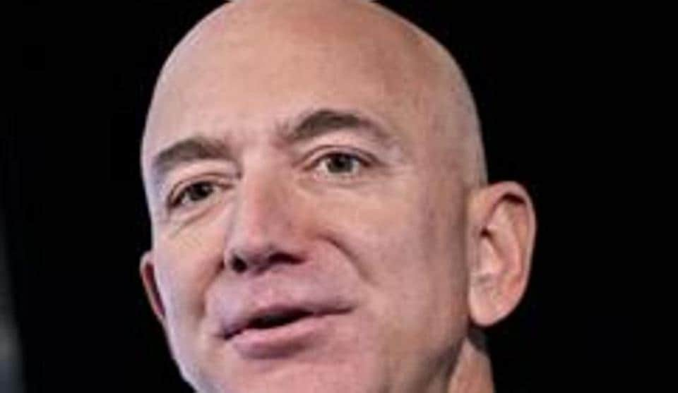 Jeff Bezos, founder and chief executive officer of Amazon.com Inc.