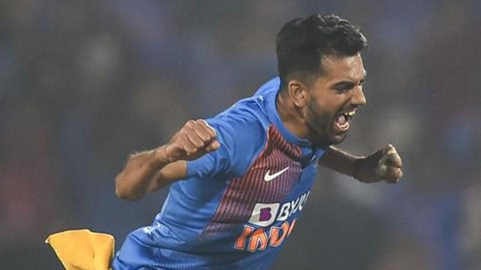 India's Deepak Chahar won ICC's 'T20I performance of the year'.