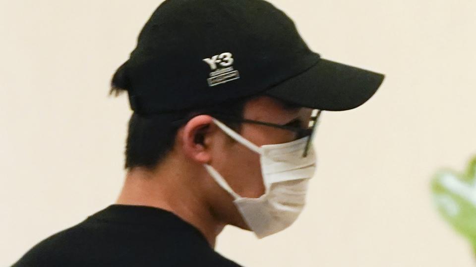 Japanese badminton player Kento Momota