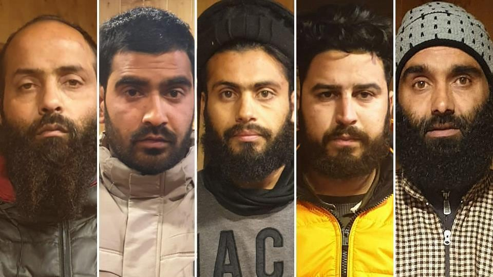 5 busted for planning terror activities on Republic Day.