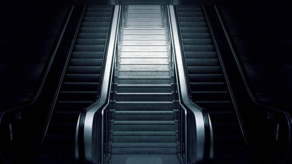 Of the system's 467 escalators, 22 are out of service on any given day (representational image).