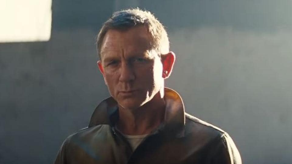 Daniel Craig as James Bond in a still from No Time to Die.