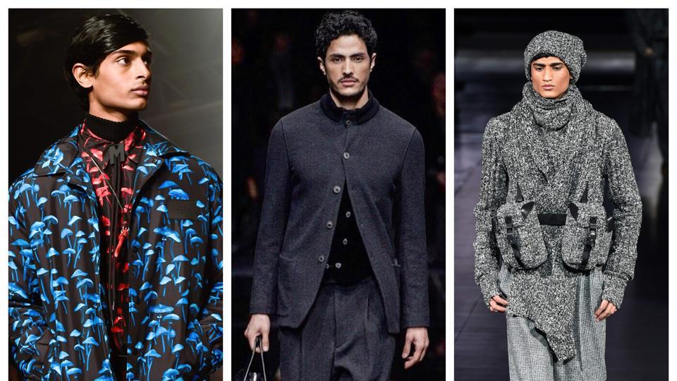 The count of male models who walked for top international brands  is the maximum this year.