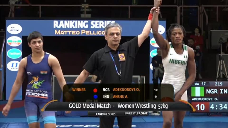 Malik loses to Adekuoroye.