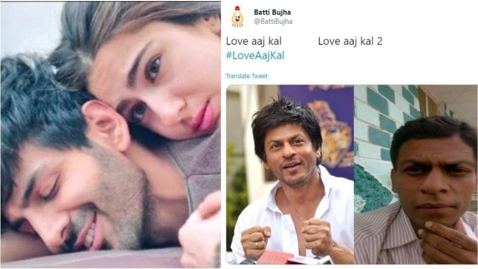 Sara Ali Khan and Kartik Aaryan's chemistry in Love Aaj Kal has impressed few.