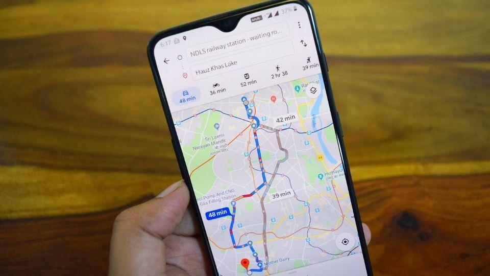 Google Maps' offers a ton of features that don't require navigation.