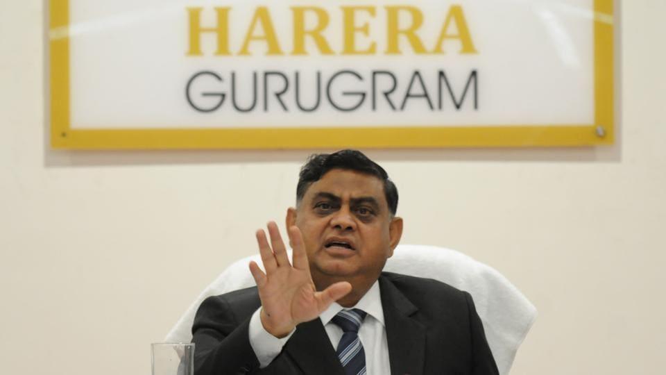 KK Khandelwal, Chairman, Haryana Real Estate Regulatory Authority (HRERA).