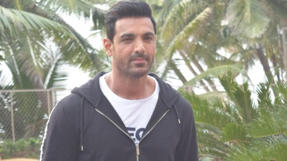 Actor John Abraham during the promotions of his upcoming film Pagalpanti in Mumbai.