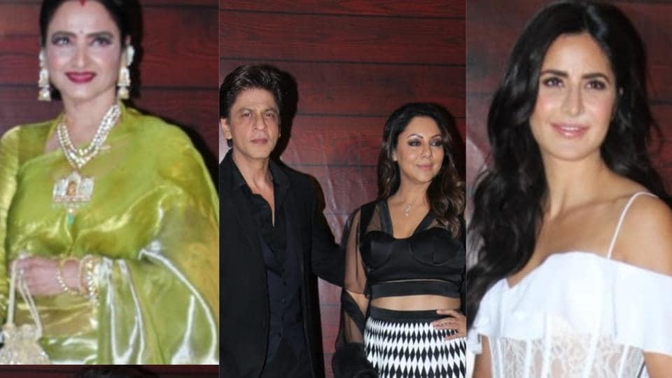 Shah Rukh Khan, Katrina Kaif, Hrithik Roshan join Bollywood stars to celebrate Javed Akhtar's 75th birthday....