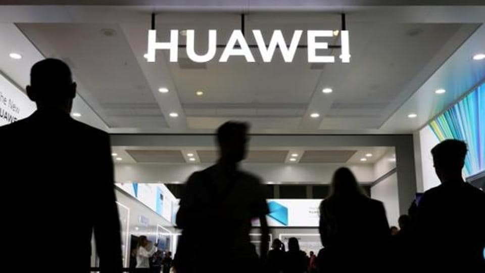 The Huawei logo is pictured at the IFA consumer tech fair in Berlin, Germany, September 6, 2019.