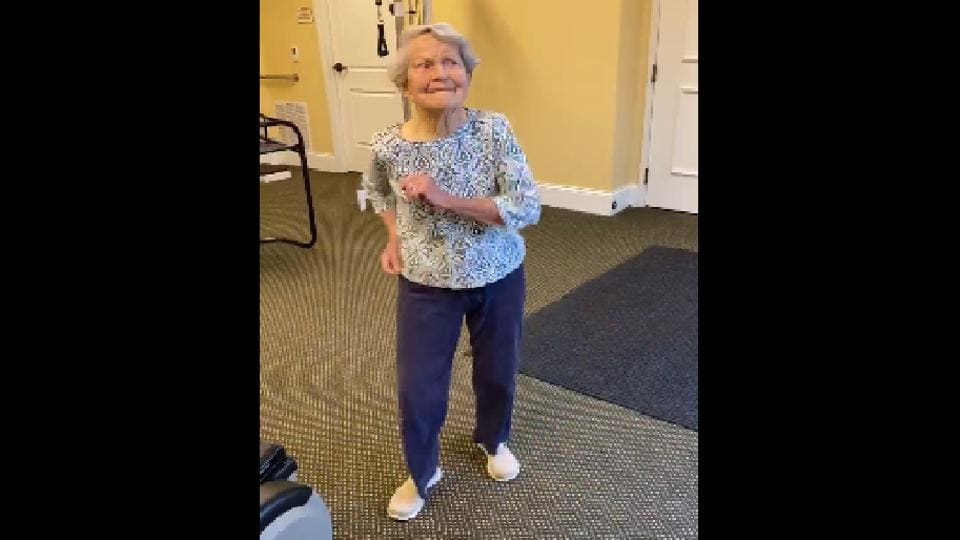 For this 91-year-old life is as enjoyable as a sunny day.