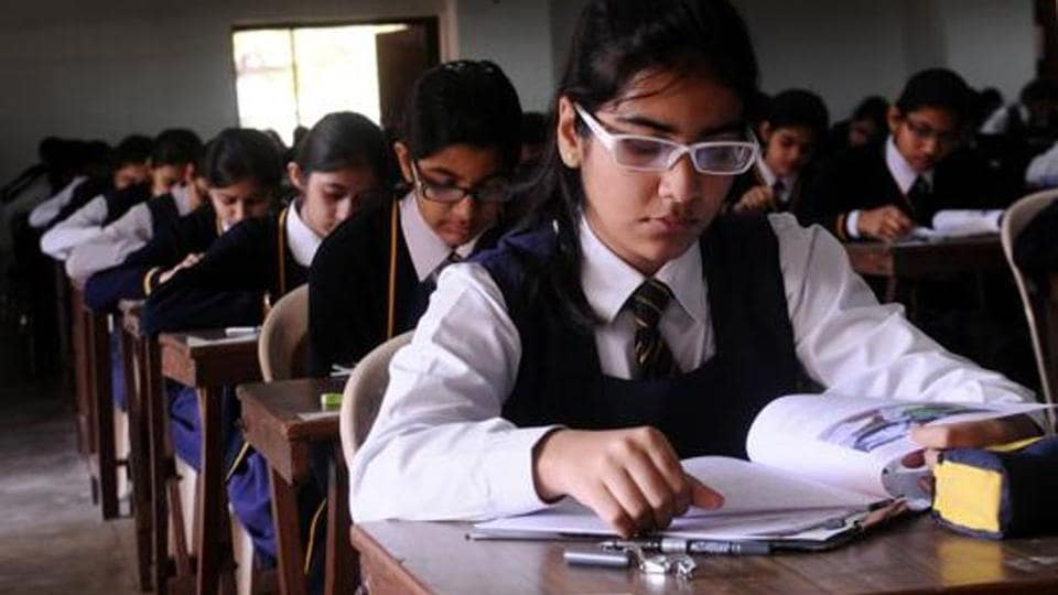 CBSE admit card 2020 for class 10th board exam.