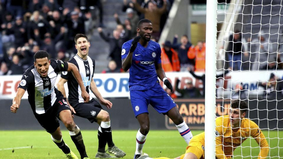 Premier League: Guardiola's birthday ruined as Palace snatch point, Chelsea stunned by Newcastle - football - Hindustan Times