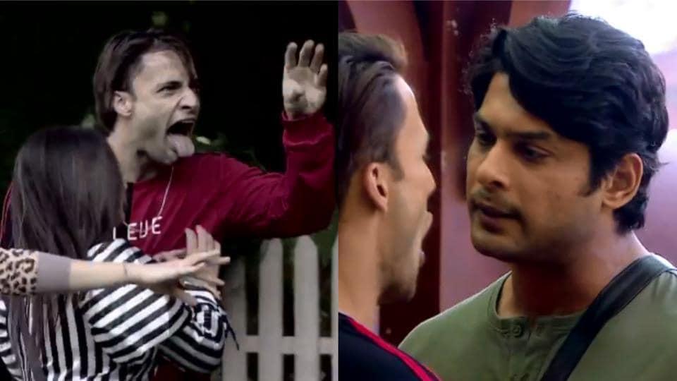 Bigg Boss 13: Asim Riaz and Sidharth Shukla again had a massive showdown in the house.