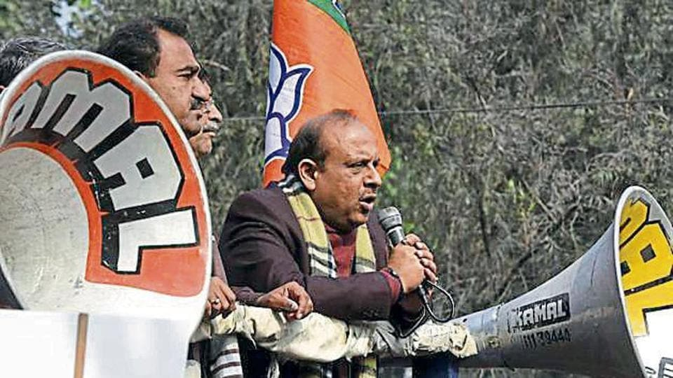 Leader of opposition in the Delhi Assembly Vijender Gupta will contest the polls from the Rohini seat again.
