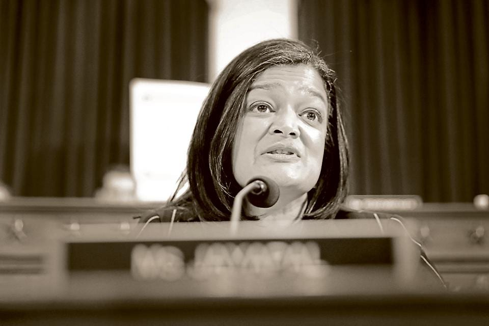Pramila Jayapal has been critical of India's actions in Jammu and Kashmir