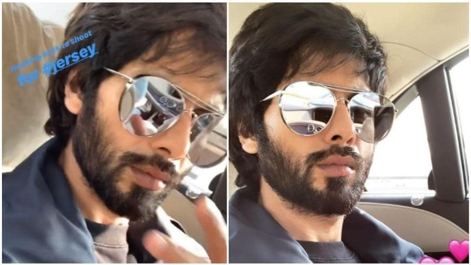 Shahid Kapoor is headed back to Chandigarh.
