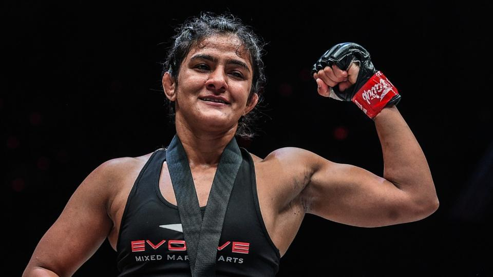 Ritu Phogat aims to continue winning streak at ONE Championship - other sports - Hindustan Times