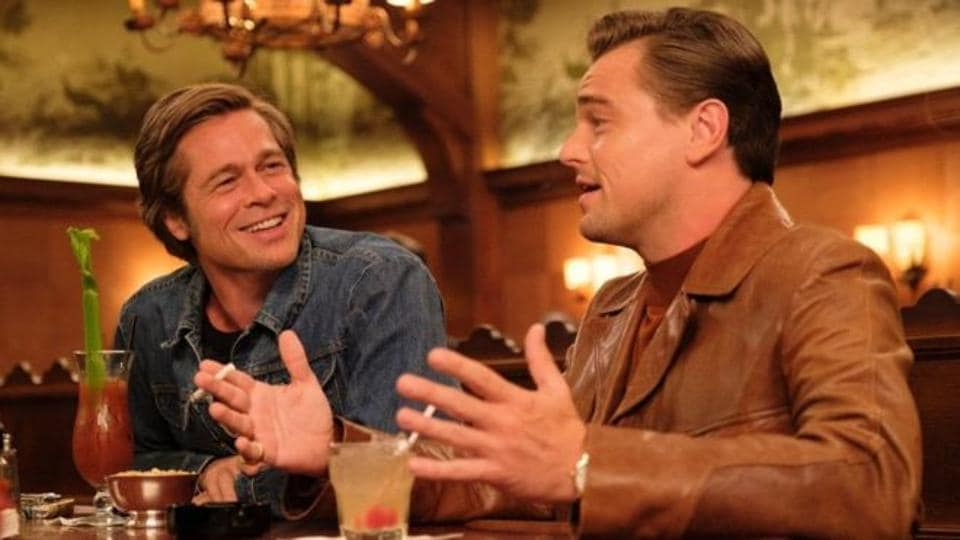 Leonardo DiCaprio and Brad Pitt played friends in Once Upon a Time in Hollywood.