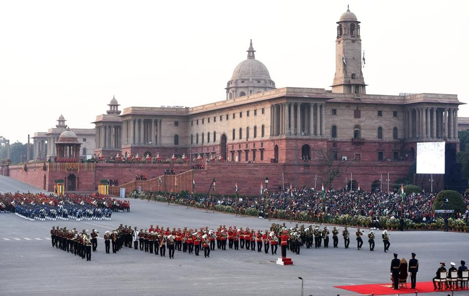 Beating Retreat has been an eclectic event, bringing military and civilian sensibilities together in a unique ceremony