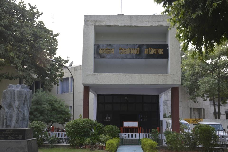 District Magistrate Office in Ghaziabad.