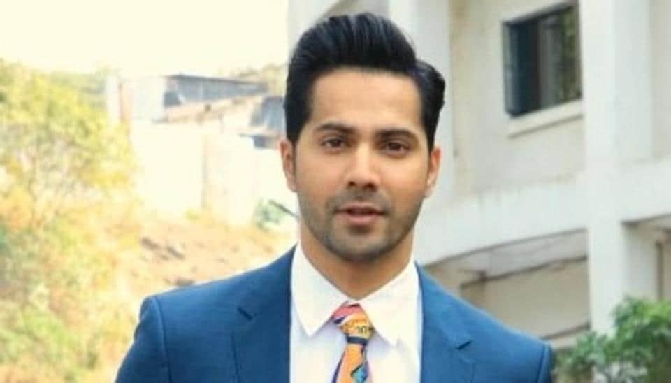 Varun Dhawan during the promotions of his upcoming film Street Dancer 3D.
