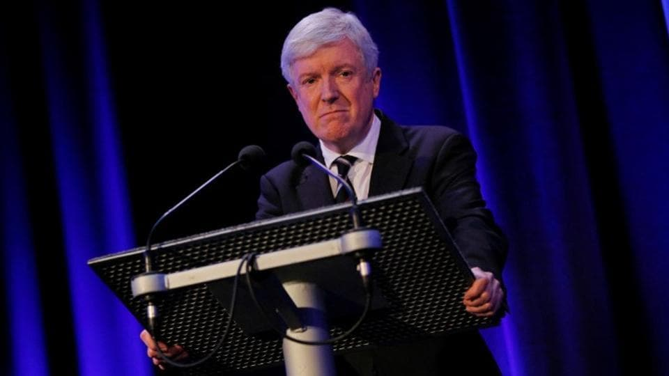 Director General Tony Hall will step down in six months.