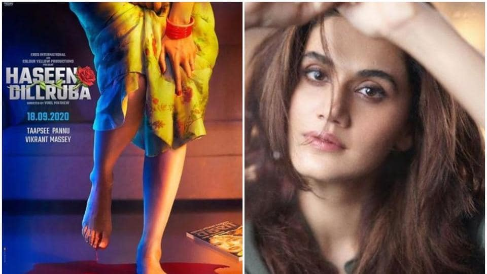 Taapsee Pannu's Haseen Dillruba is a tribute to Hindi pulp fiction: 'This is something I haven't done...
