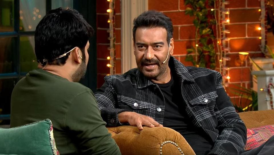 Ajay Devgn knows how to stump Kapil Sharma.