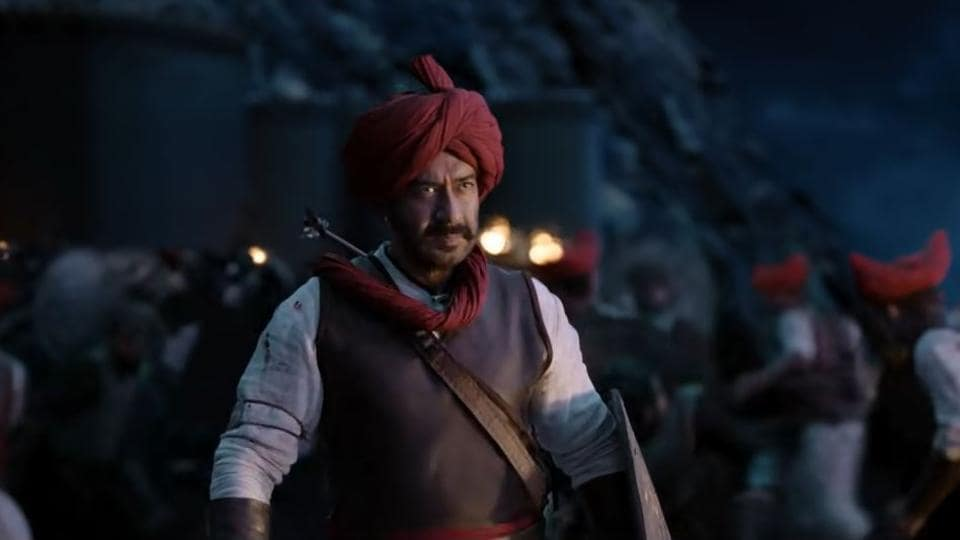 Ajay Devgn plays Maratha warrior Taanaji Malusare in Tanhaji: The Unsung Warrior.