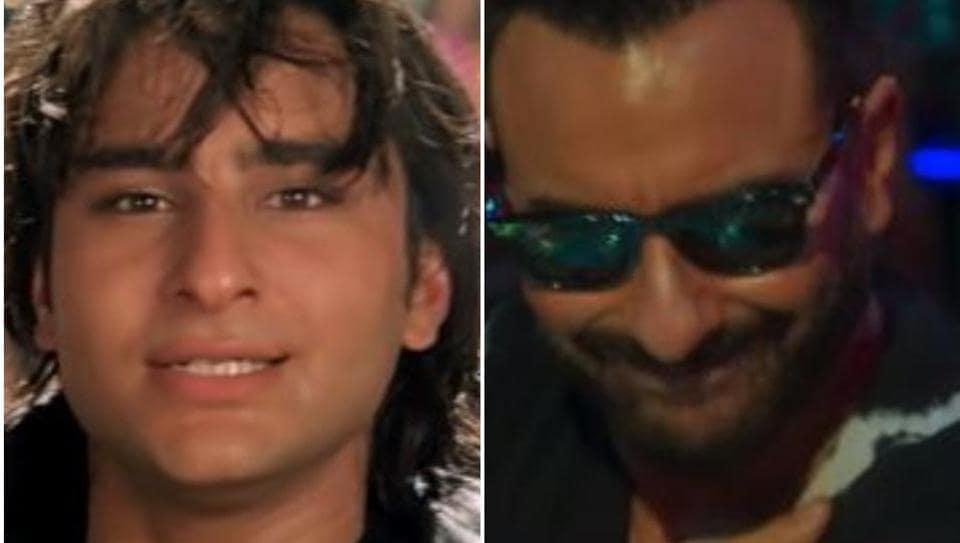 Saif Ali Khan does Ole Ole in 1994 and 2020.