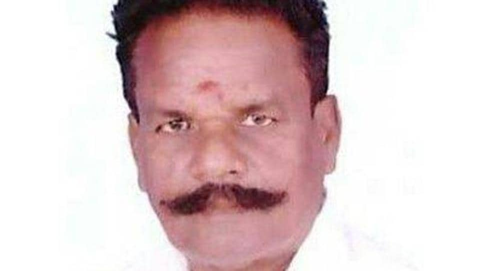 Tamil Nadu minister and AIADMK leader GBaskaran.