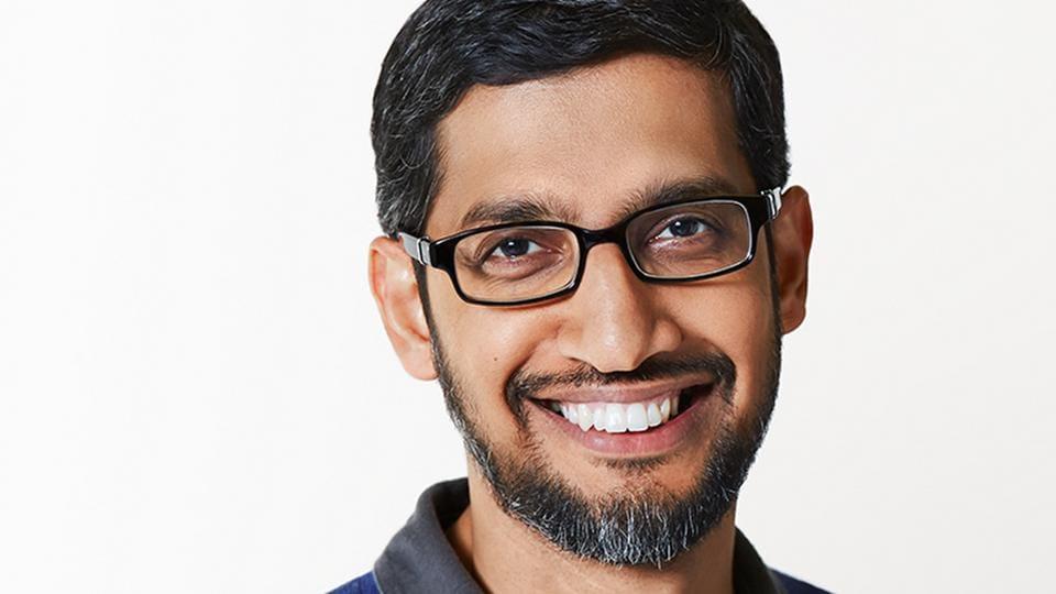 Google and Alphabet CEO, Sundar Pichai