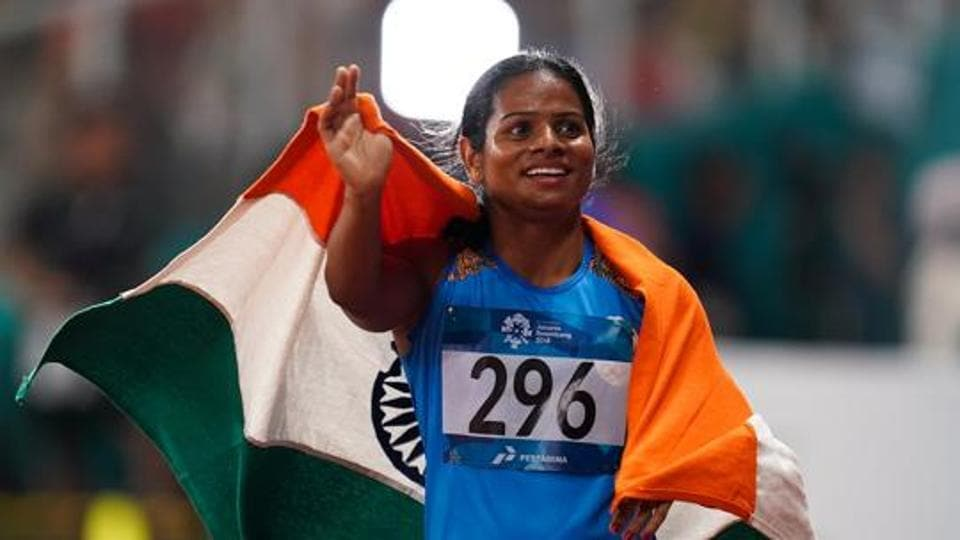 File image of Dutee Chand.