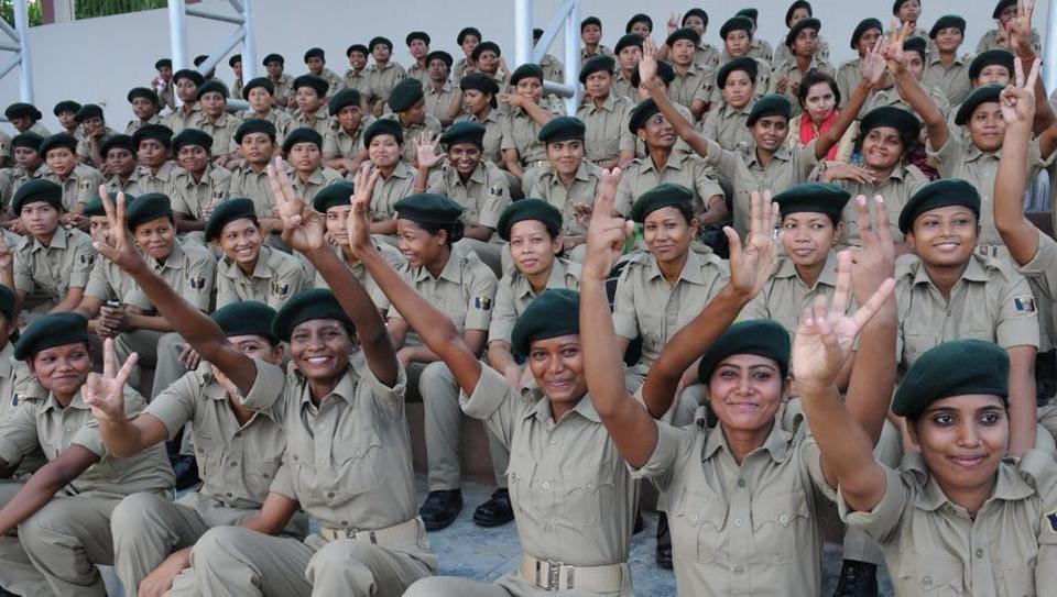 Women battalion.