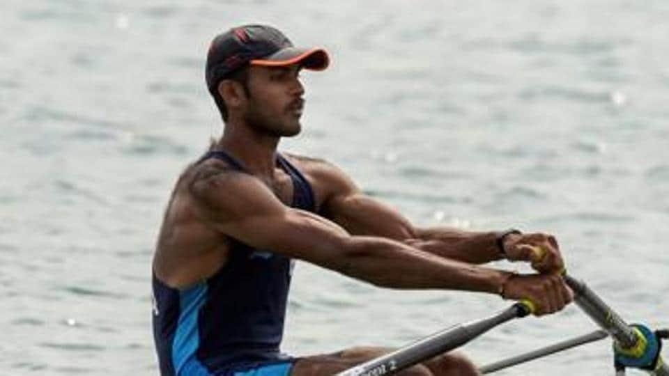 File image: Indian rower Dattu Baban Bhokanal.