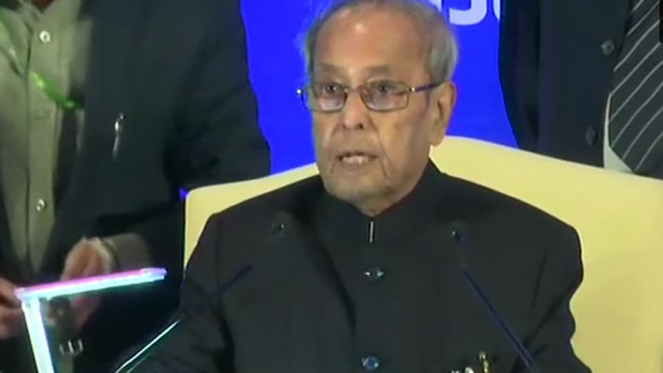 President Pranab Mukherjee was speaking at the first Sukumar Sen memorial lecture organised by the election commission.