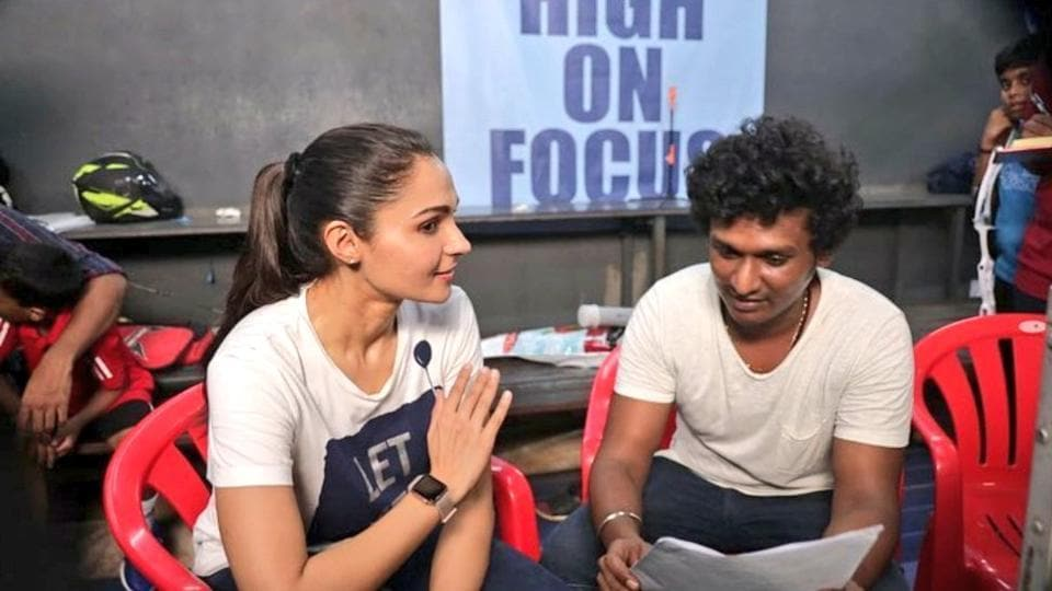 Andrea Jeremiah is gearing up for a final schedule of Master.