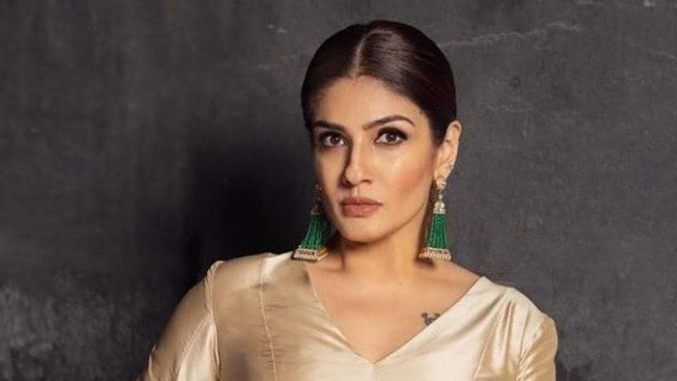 Raveena Tandon seems to be hitting out at Aditi Mittal in her latest tweet.