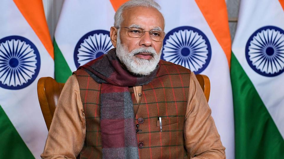 Prime Minister Narendra Modi paid tributes to Netaji Subhas Chandra Bose and Bal Thackeray on their birth anniversary, Jan 23, 2010.