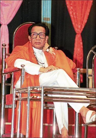 Late Shiv Sena chief Bal Thackeray at the 41st anniversary of his magazine 'Marmik'  in Mumbai.