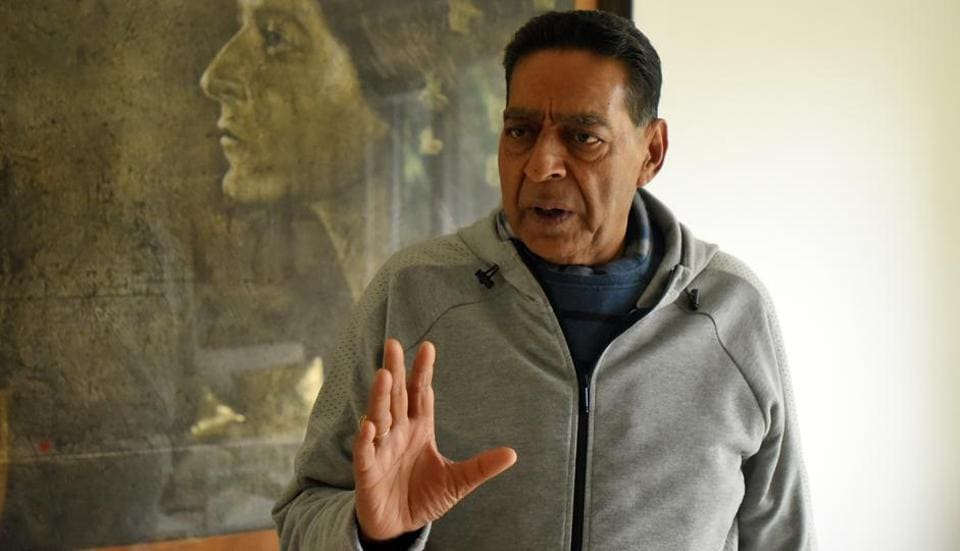 Delhi Pradesh Congress Committee (DPCC) President Subhash Chopra during an interview at his residence in  New Delhi on Wednesday, January 22, 2020.
